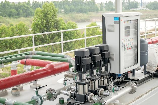 Wasserpumpstation