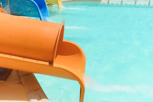 Wasserrutschen im wasserpark
