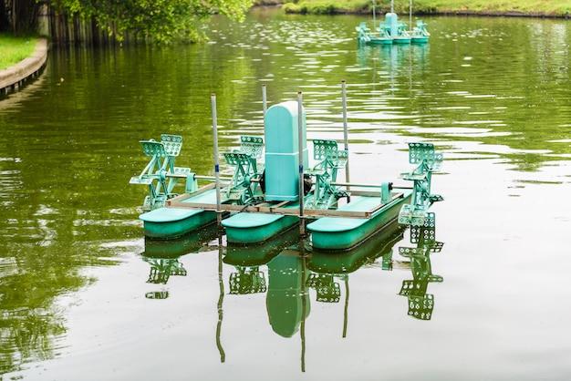 Wasserturbine, aerator-turbinenrad