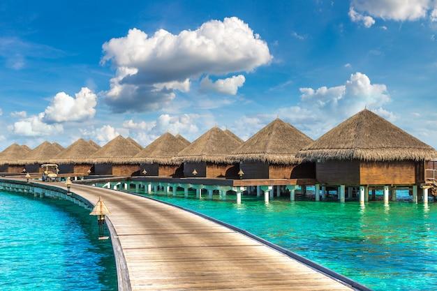 Wasservillen auf den malediven