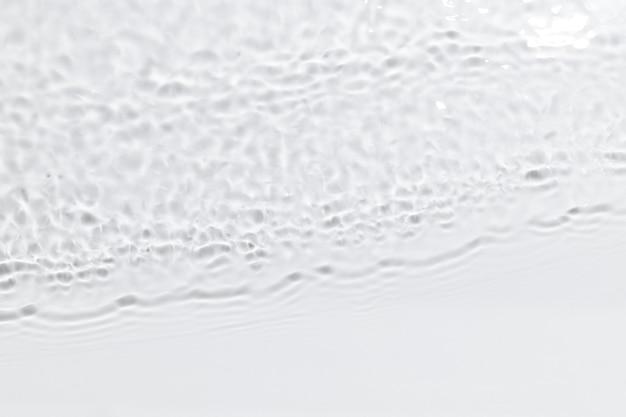 Wasserwellenbeschaffenheitshintergrund, weißes design