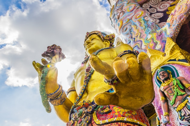 Wat ban rai, provinz nakhon ratchasima, thailand
