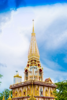 Wat chalong tempel in phuket