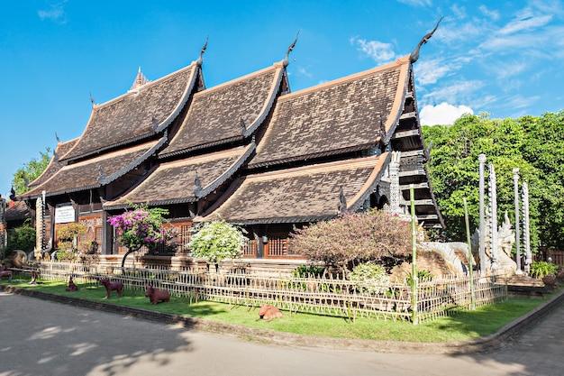 Wat lok molee ist ein buddhistischer tempel in chiang mai, nordthailand