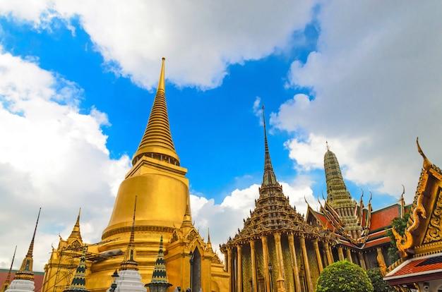 Wat phra kaew tempel, bangkok, thailand