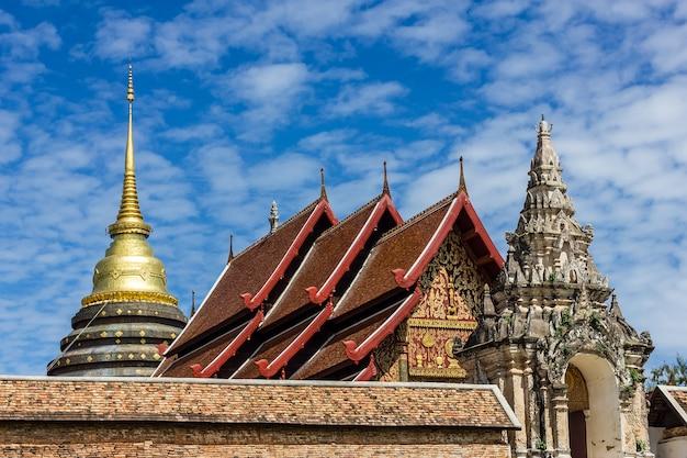 Wat phra thad lampang luang, lampang, thailand.