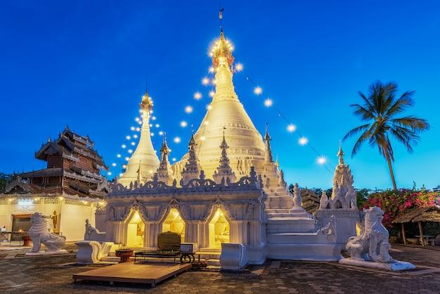 Wat phra that doi kong mu. mae hong son, thailand
