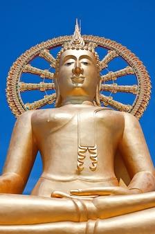 Wat phra yai, der große buddha-tempel auf koh samui, thailand