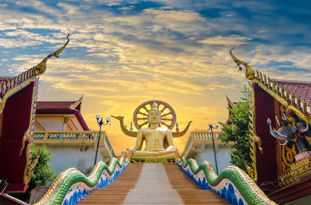 Wat phra yai koh samui surat thani thailand