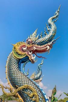 Wat rong sua ten in chiang rai, thailand