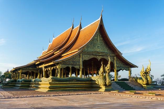 Wat sirindhorn wararam phu prao, provinz ubon ratchathani, thailand
