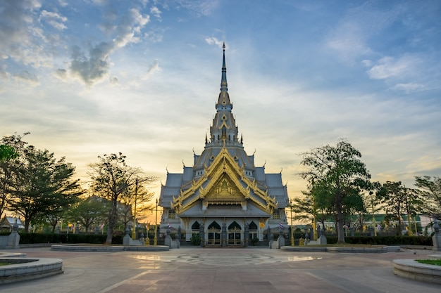 Wat sothon wararam worawihan in chachoengsao, thailand