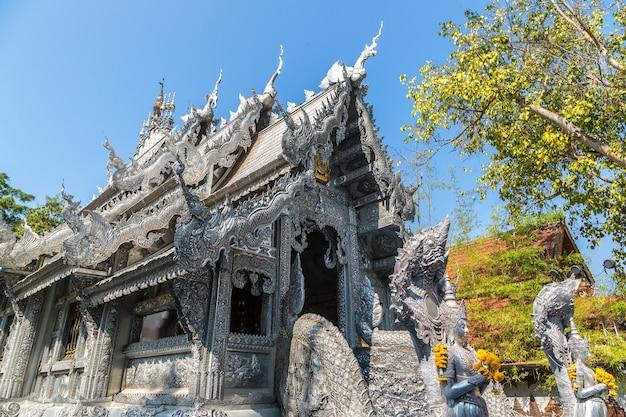 Wat sri suphan (silbertempel) in chiang mai