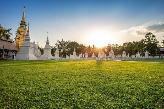Wat suan dok ist ein buddhistischer tempel (wat) in chiang mai, nordthailand.
