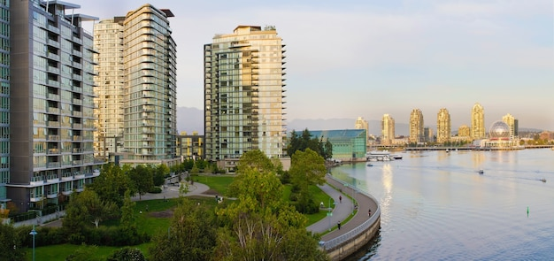Waterfront leben in vancouver bc
