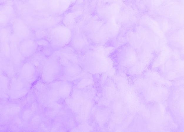 Watte textur. violetter hintergrund.