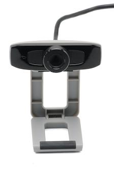 Webcam mit draht isoliert