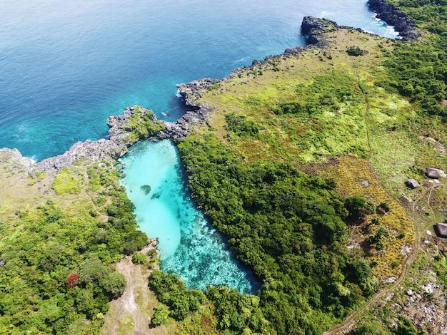 Weekuri lagune takeon von der antenne
