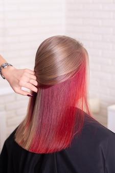 Haare roten strähnen mit braune ▷ 1001+