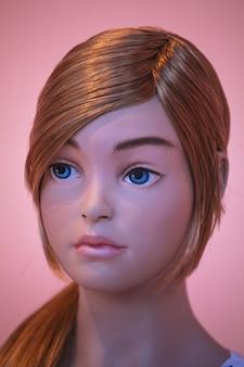 Weibliches mannequin