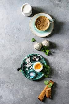 Weich gekochtes ei