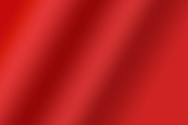 Weiche textur der roten farbverlaufsfarbe, die als abstrakter dekorativer gestaltungselementhintergrund gewellt wird