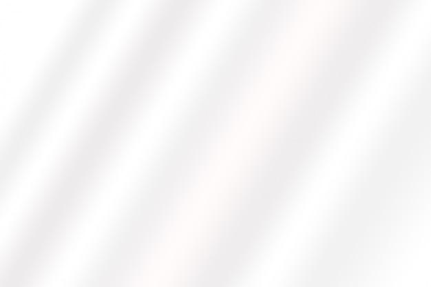 Weiche textur der weißen farbverlaufsfarbe, die als dekorativer hintergrund der abstrakten glatten linie gewellt wird