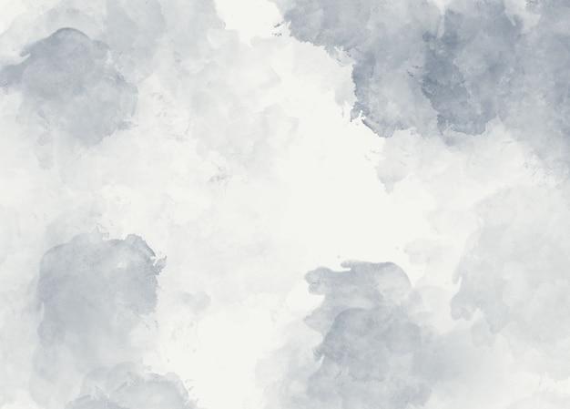 Weicher abstrakter hintergrund des grauen aquarells
