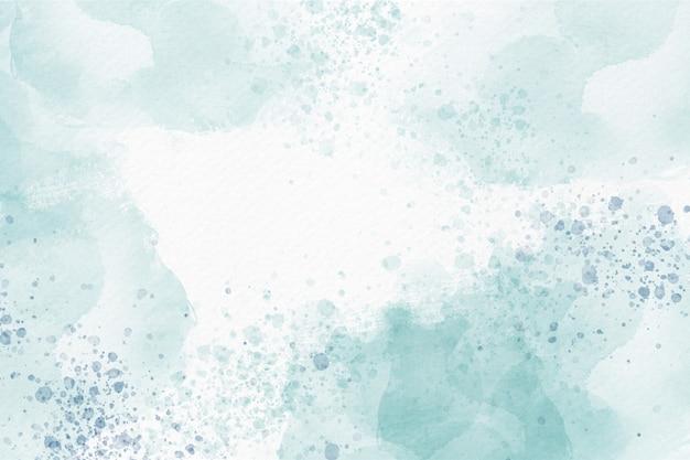 Weicher blauer aquarellzusammenfassungshintergrund