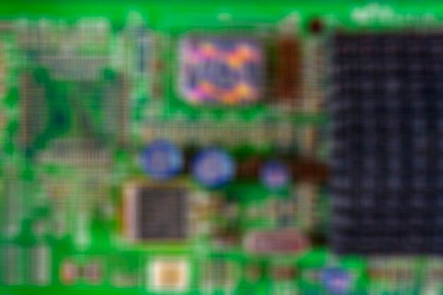 Weicher fokus des computerhintergrundes.