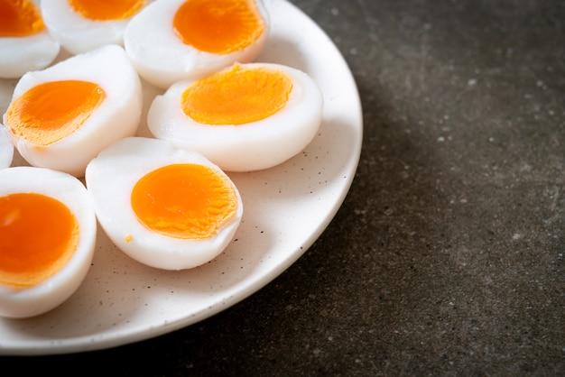 Weichgekochte eier