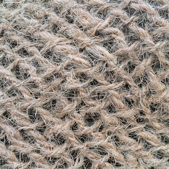 Weidennetz aus grobem seil