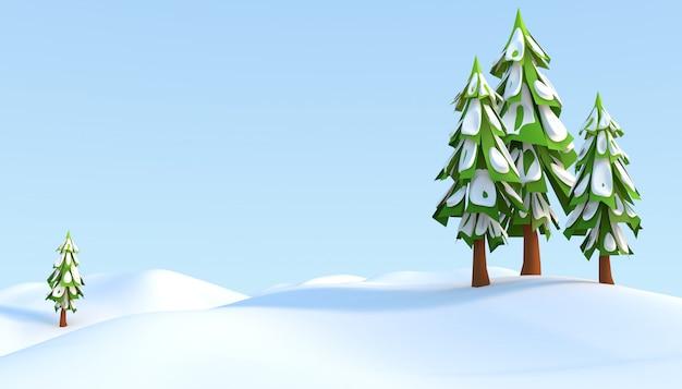 Weihnachten 3d-illustration