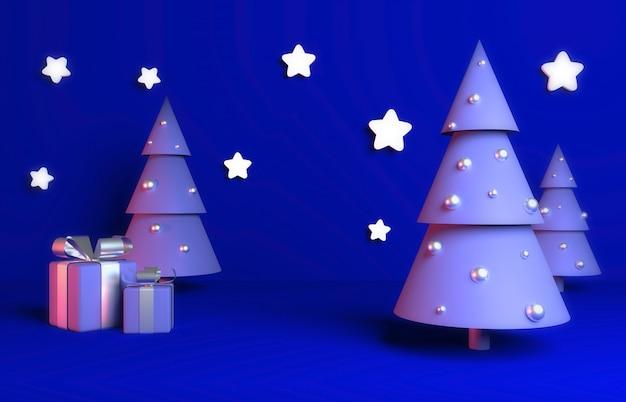 Weihnachten 3d übertragen