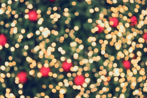 Weihnachten bokeh licht abstrakter feiertagshintergrund