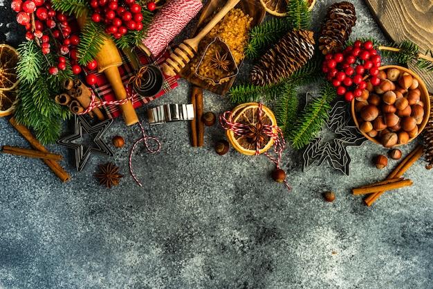Weihnachten, das konzept kocht