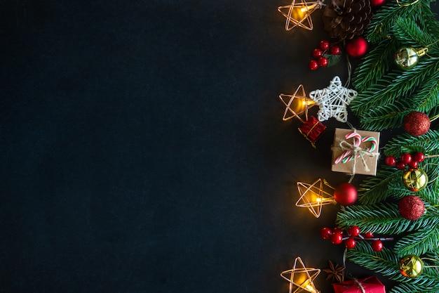 Weihnachten dekoriert haus thema.
