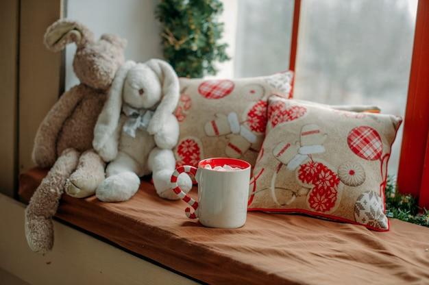Weihnachten heiße schokolade