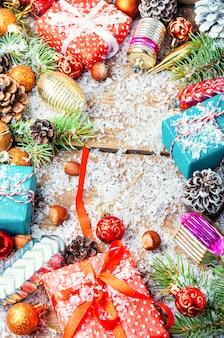Weihnachten hintergrund konzept