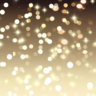 Weihnachten Hintergrund mit Bokeh Lichter