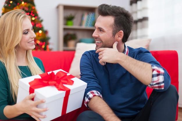 Weihnachten ist zeit für geschenke