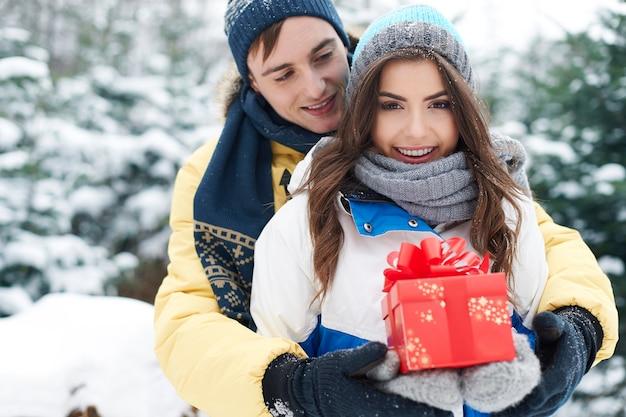 Weihnachten ist zeit für glück und liebe