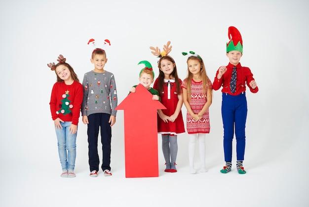 Weihnachten mit freunden ist besser