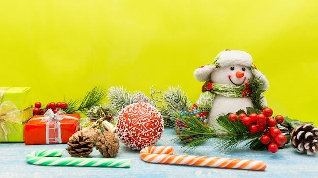 Weihnachten mit spielzeug