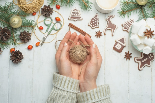 Weihnachten, neujahrshintergrund