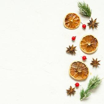 Weihnachten oder neujahr komposition