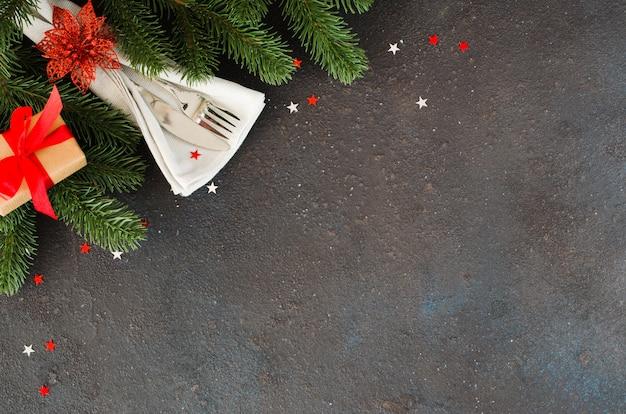 Weihnachten tabelleneinstellung.