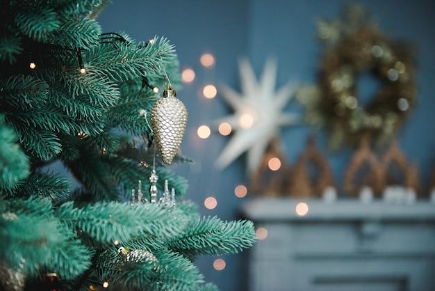 Weihnachten und neujahr hintergrund.