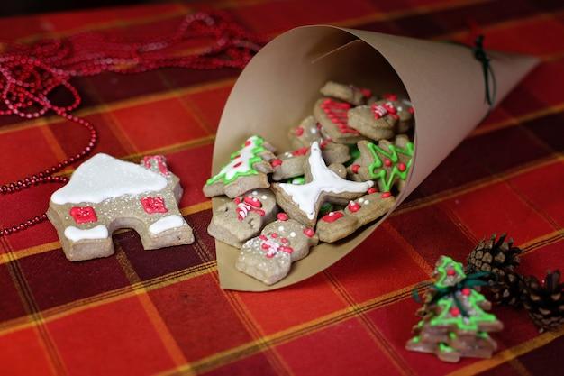 Weihnachten und neujahr konzept