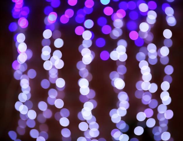 Weihnachten verschwommene lichter hintergrund